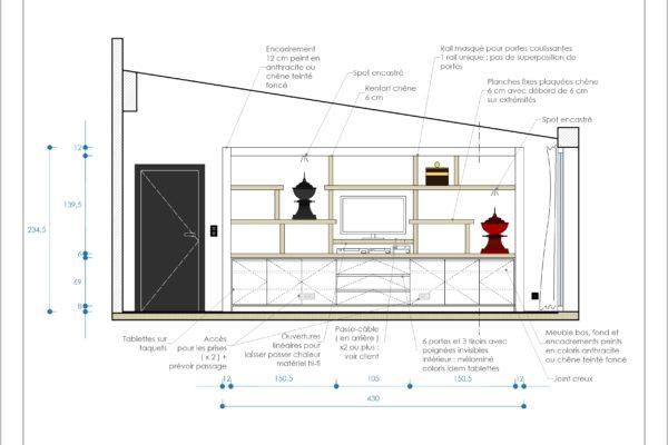 Projet bibliothèque dessin 2D Alexandra Gilson