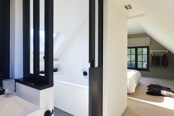 Détail vue couloir chambre Alexandra Gilson